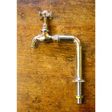 Traditional bib taps on standpipes
