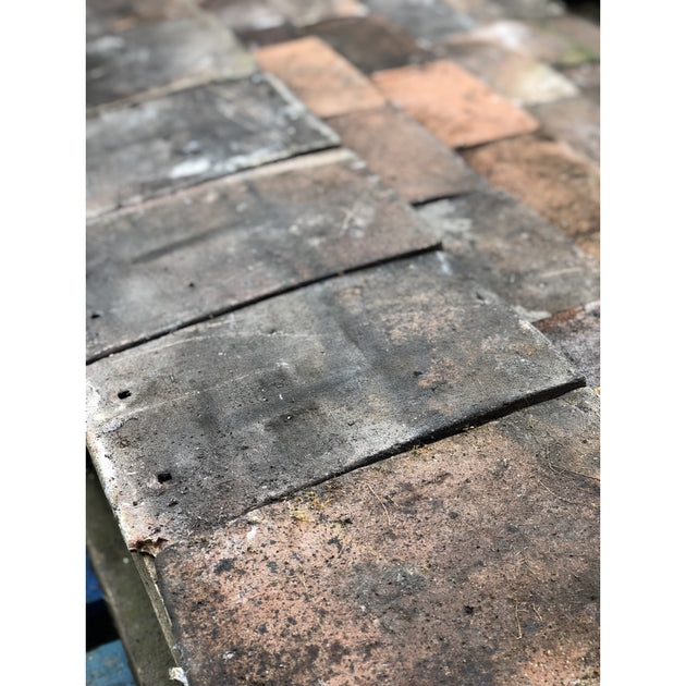 Reclaimed Clay Pin Tiles