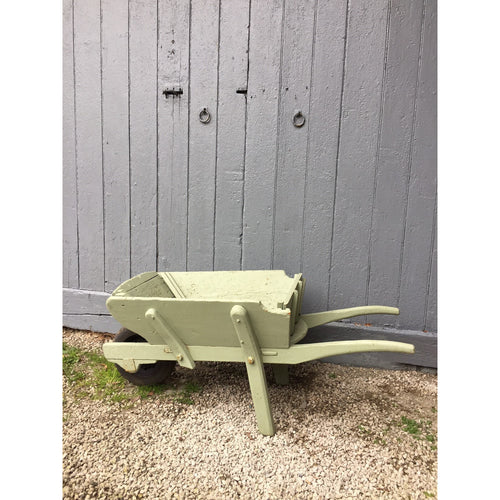 vintage english garden wheelbarrow