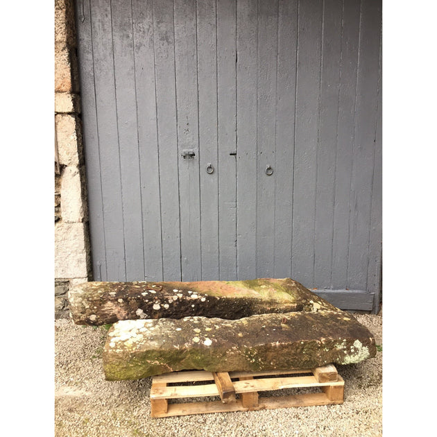UK architectural salvage antique stone gate posts stoops and reclaimed red sandstone