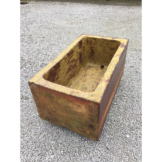 A Salt Glazed Drinking Trough