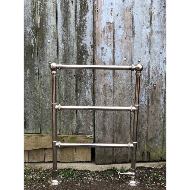 Shanks & Co Nickel Towel Rail