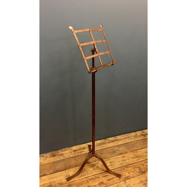 Copper Arts and Crafts Music Stand