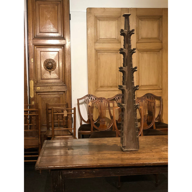 Gothic Oak Pinnacle with Crockets