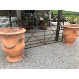 Large Terracotta Anduze Vases or Urns