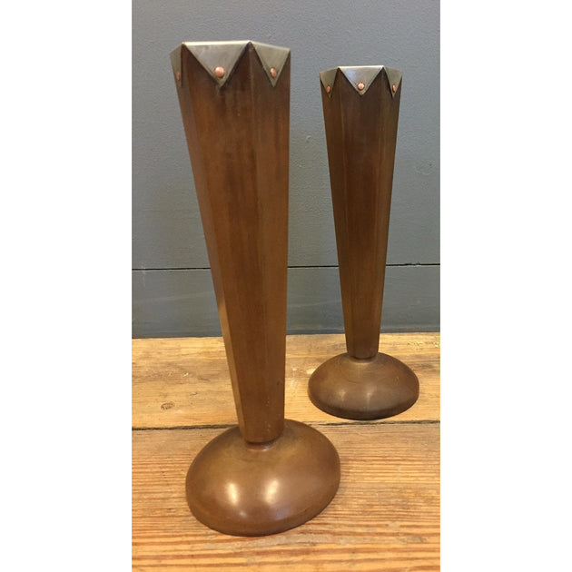 Pair of Art Deco Bakelite Candlesticks