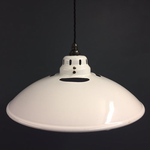 White Enamel Shade