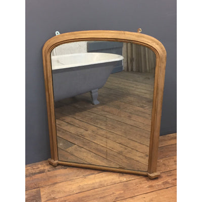foxed over mantle mirror