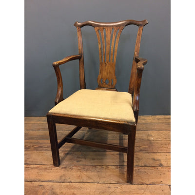 A Handsome George III Arm Chair