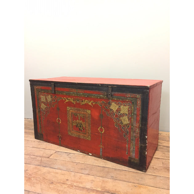 Chinese Painted Chest