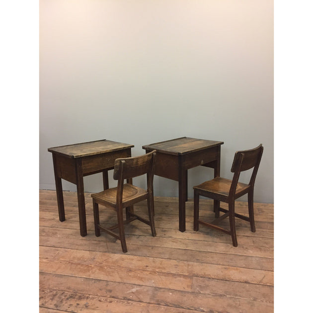 vintage school desk and chair by gordon russell ltd