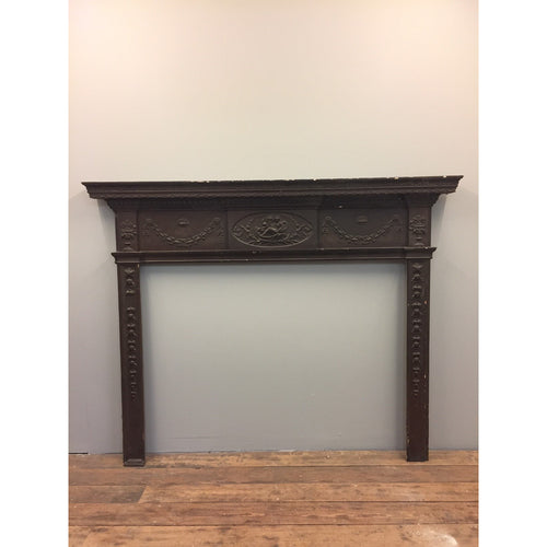 A Georgian Pine and Gesso Fire Surround