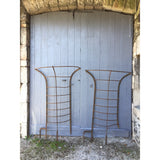 uk architectural salvage, reclaimed wrought iron tree guards Victorian estate fencing