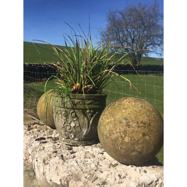 Carved Sandstone Balls