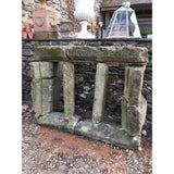 A Reclaimed Stone Mullion Window