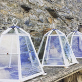 lantern cloche, original glazed garden cloche
