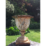Cast Iron Urn: English Garden Antiques