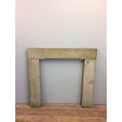 Georgian stone fire surround