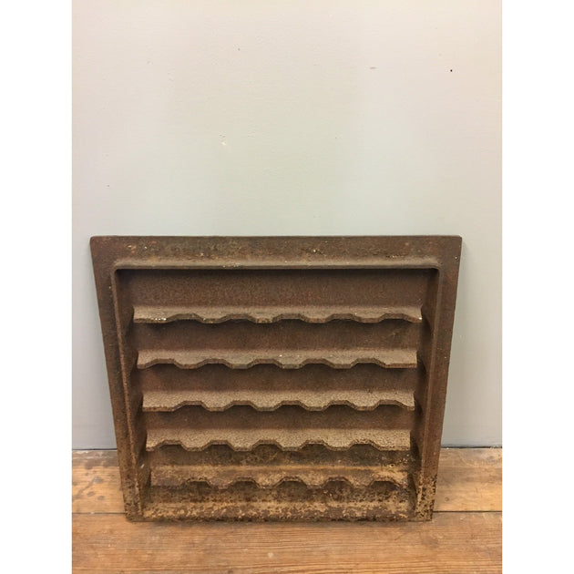 Reclaimed Cast Iron Fire Back
