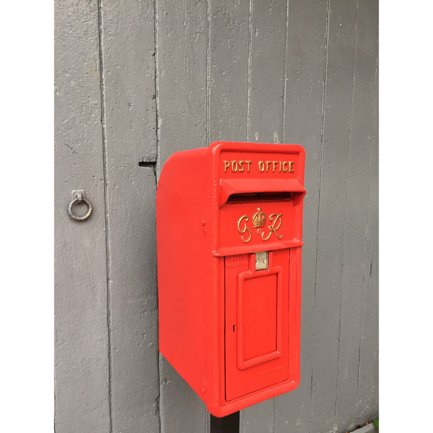 Red GR VI Royal Mail Post Box