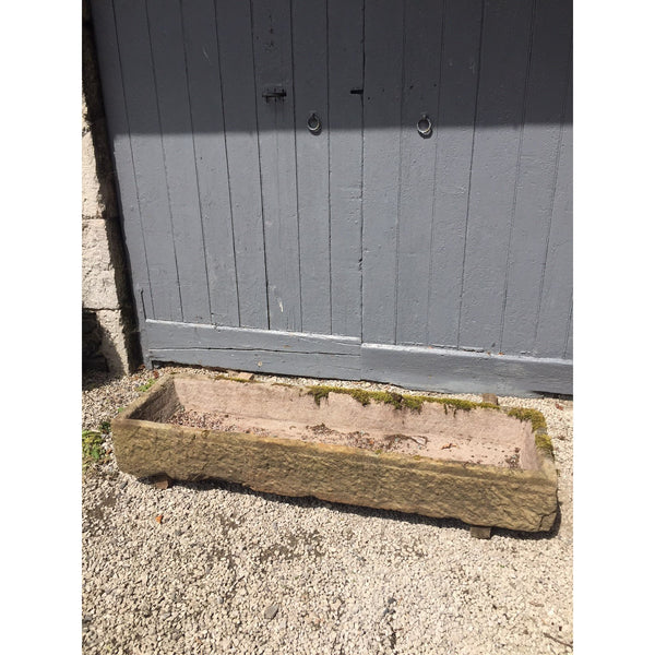 Long Reclaimed Sandstone Feed Trough //RT120//