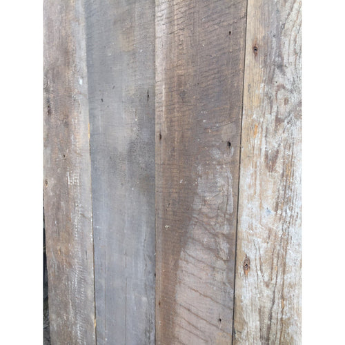 reclaimed Georgian pine boards