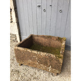 Large Reclaimed Red Sandstone Trough //RT122//