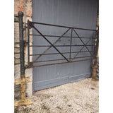 Wrought Iron Estate Gate with Original Posts