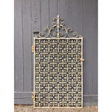 Antique Wrought Iron Garden Gate