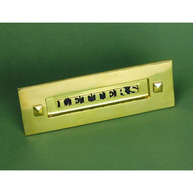 Classic Brass Letter Box