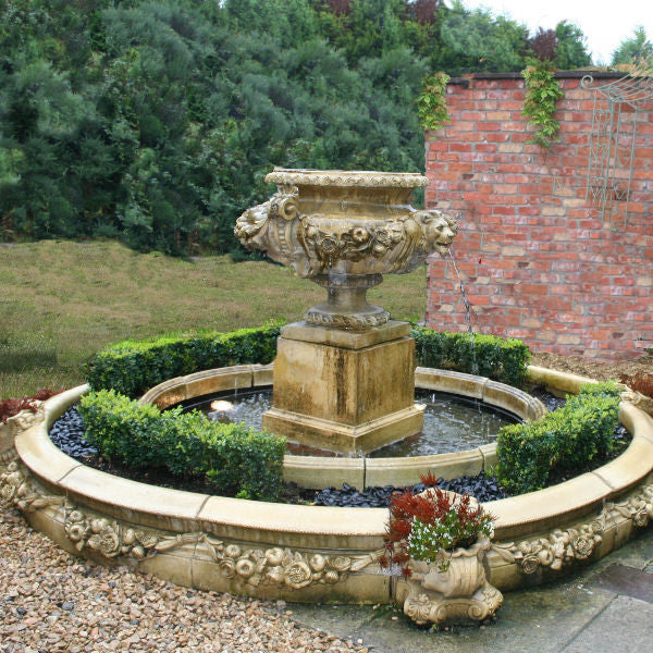 Lion Mask fountain from Yew Tree Barn - Fountains and Water Features