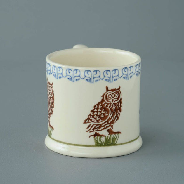 Brixton Pottery Large Owl Mug 250 ml