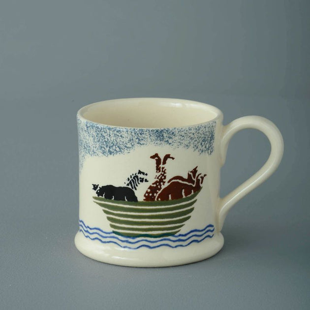 Brixton Pottery Small Noahs Ark Mug 150 ml