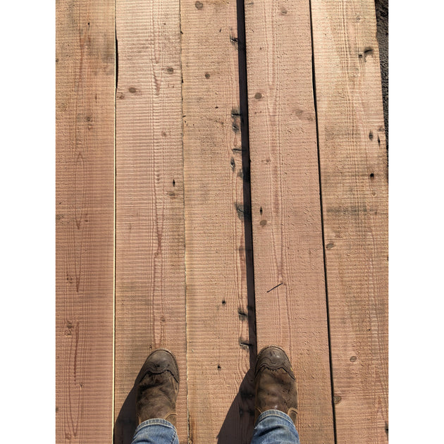 Reclaimed Douglas Fir Floorboards