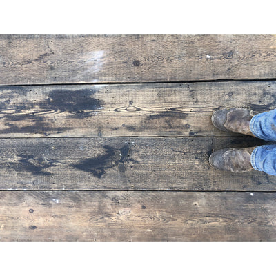 Reclaimed Wide Pine Floorboards