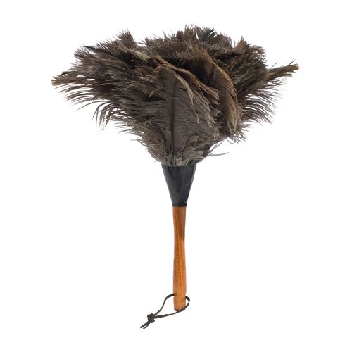 Ostrich Feather Duster (Dark)