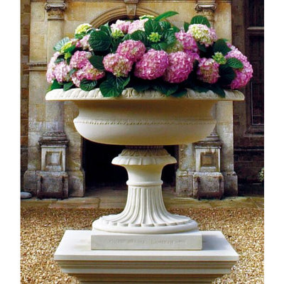 Coade design Tatham tazza: English garden ornaments