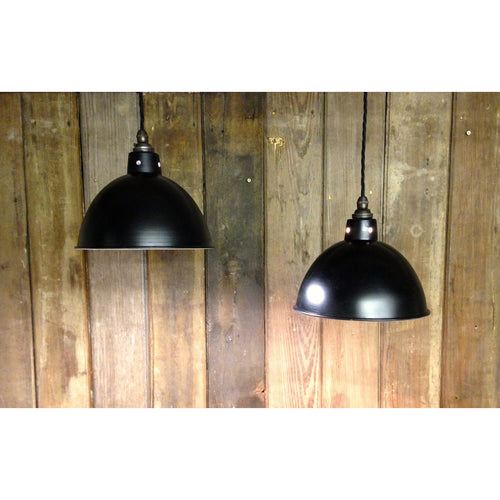 black enamel light shade enamel