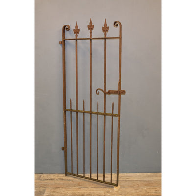 wrought iron reclaimed salvaged garden gate