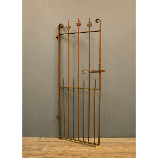 Decorative Antique wrought iron pedestrian gate