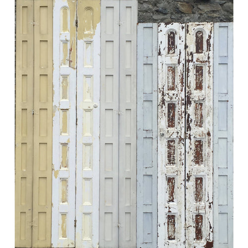 Antique Georgian pine shutters, reclaimed shutters, painted georgian pine, hinged period shutters