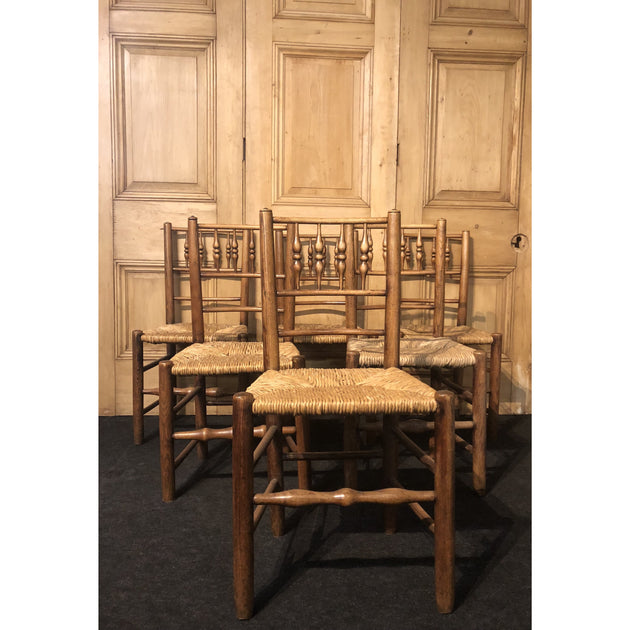 A set of  'Dales' spindle back chairs