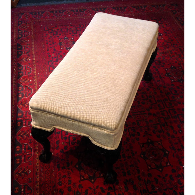 upholstered ottoman foot stool