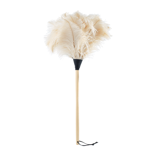 Ostrich Feather Duster (White)