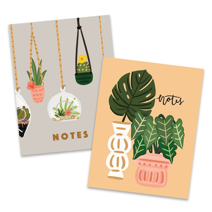 Hanging Plants Pocket Notebook Set