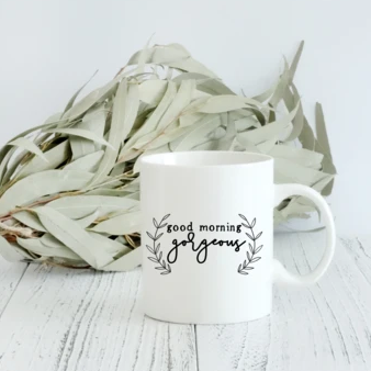 Saved by Grace Co. - Good Morning Gorgeous Coffee Mug