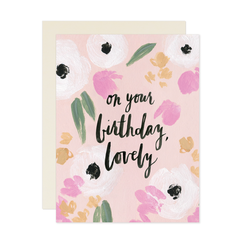 Our Heiday - On Your Birthday Lovely Card