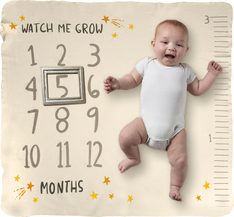 Milestone Blanket - Watch Me Grow