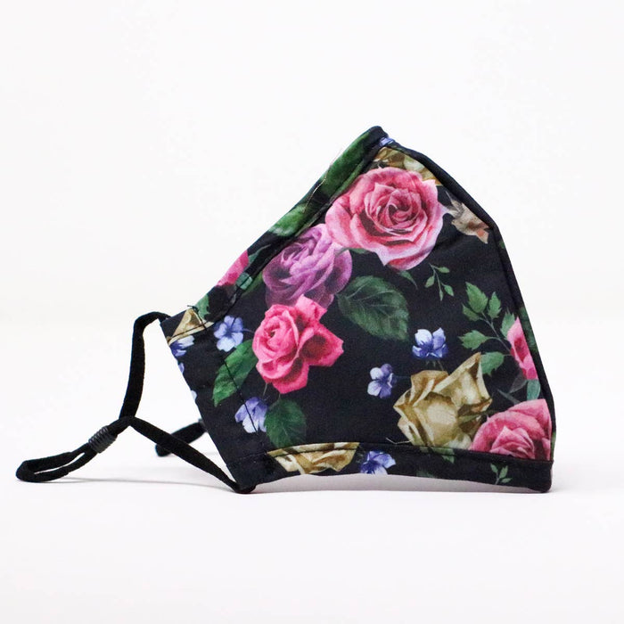 Pink Roses | Reusable Cotton Face Mask