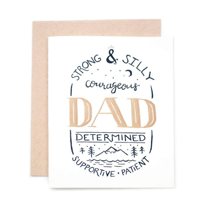 Father's Day Strong and Silly Card